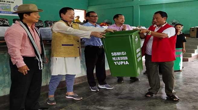 Arunachal: Tana Hali launched Swachh Survekshan Grameen for Papum Pare