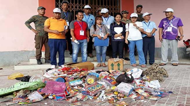 Arunachal: Enforcement Squad seized Huge quantities of Tobacco product in Seppa