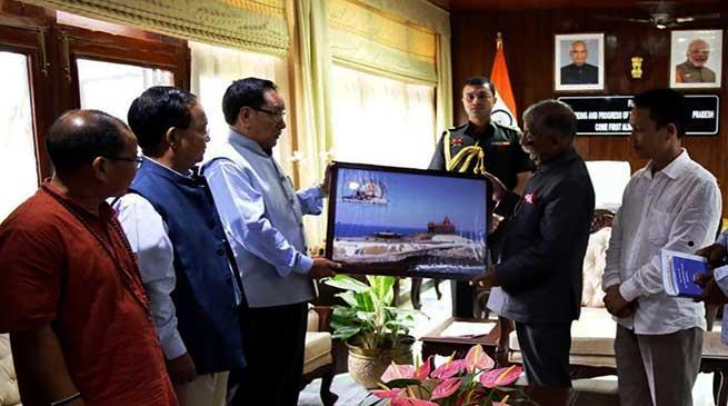 Arunachal: Vivekananda Kendra delegation calls on the Governor