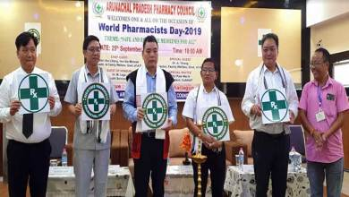 Photo of Arunachal: World Pharmacist Day celebrated