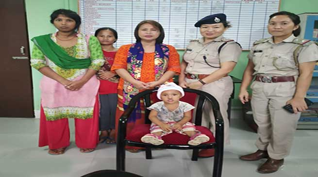 Itanagar: woman escaped leaving her 4-year-old child