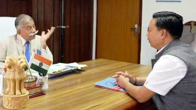 Photo of Arunachal: Buragaon-Thrizino MLA calls on the Governor