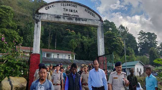 Arunachal: Khonsa west Bypoll, DGP visits polling stations