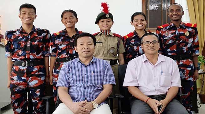 Arunachal: DNGC NCC Cadets Represent NE at Thal Sainik Camp