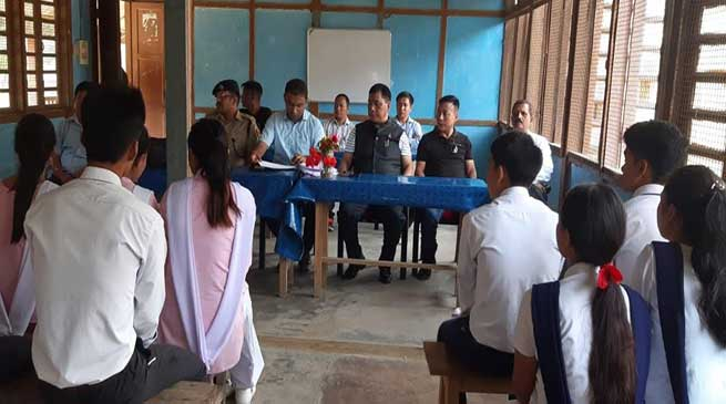 Arunachal: Only hard work can make one's future great- Tapuk Taku says to students