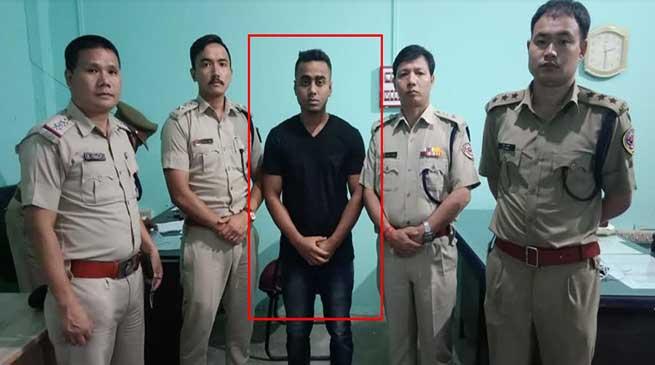 Itanagar: Man wanted in Naharlagun incident arrested by Capital police