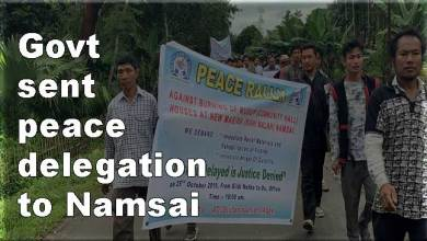 Photo of Namsai incident: Arunachal Dy CM, HM call emergency meeting, sent peace delegation to Namsai