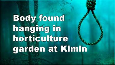 Photo of Arunachal: Man's Body found hanging in horticulture garden at Kimin