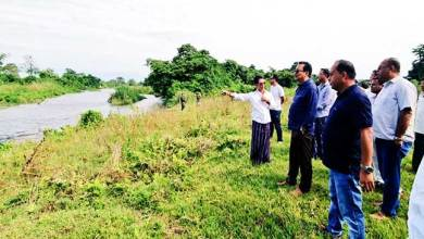 Photo of Arunachal: Chowna Mein inspected flood affected areas at Chongkham