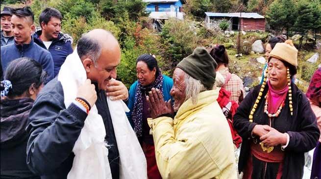 Arunachal: CS Visits West Kameng and Tawang districts