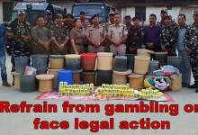 Photo of Itanagar: Capital Police warned gamblers to face legal action