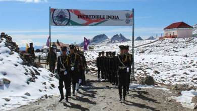 Photo of Border Personnel Meeting between India, China held at Bum La