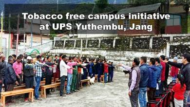 Photo of Arunachal: Tobacco free campus initiative at UPS Yuthembu, Jang