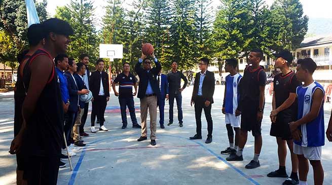 Arunachal: 1st Inter school basketball tournament-2019 begins
