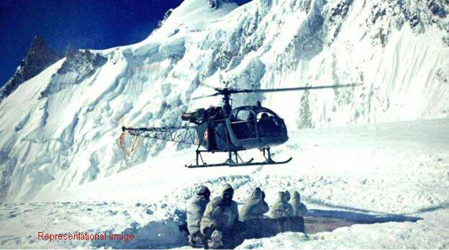 Image result for siachen glacier