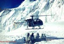 Photo of Avalanche in Siachen Glacier, 8 soldiers trapped