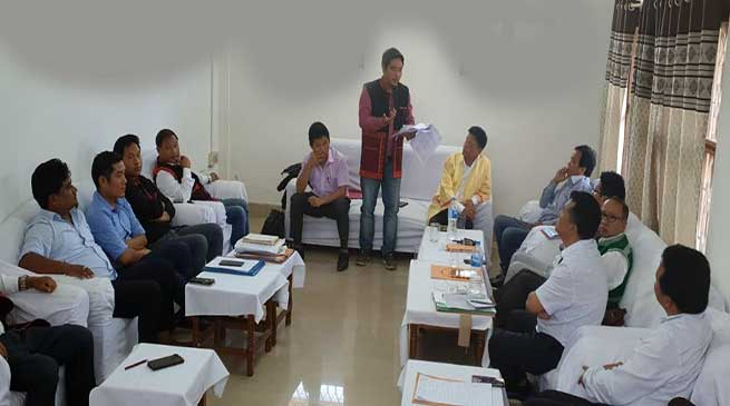 Arunachal: Fact Finding committee of AITF visits Namsai
