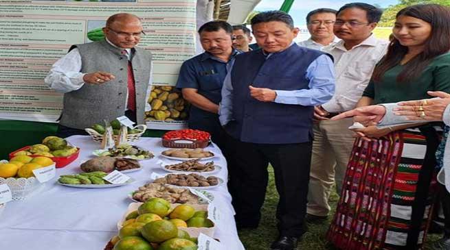Arunachal: P D Sona inaugurates regional Agriculture Fair