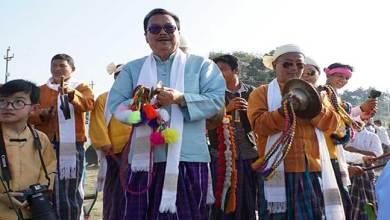 Photo of Arunachal: TAI new year festival 'Poi Pee Mau Tai 2114' begins