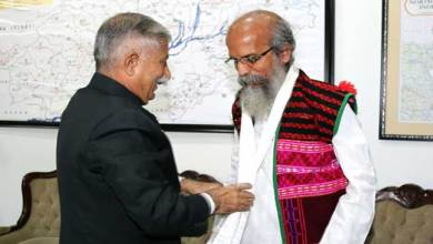 Photo of Arunachal: Union MoS (MSME) Pratap Chandra Sarangi calls on the Governor