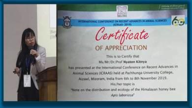 Photo of Arunachal: RGU student shines inInternational Conference