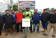 """Kiran India""- A cycle expedition started from Gujrat reaches Arunachal"