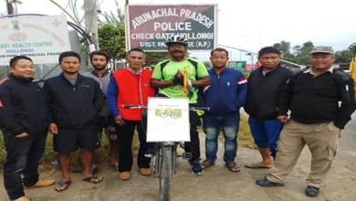 """Photo of """"Kiran India""""- A cycle expedition started from Gujrat reaches Arunachal"""