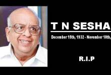 Photo of Former chief election commissioner TN Seshan passes away