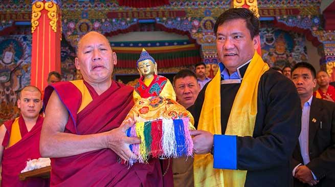 Arunachal: Pema Khandu attends Torgya festival at Bomdila