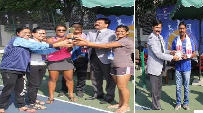 East Zone Inter University Tennis Championship 2019- 20 (W) - Closing Ceremony