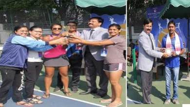 Photo of East Zone Inter University Tennis Championship 2019- 20 (W) – Closing Ceremony