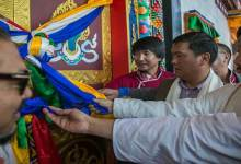 Photo of Tawang: Khandu attends  Consecration and inauguration of Zangdok Palri Gompa