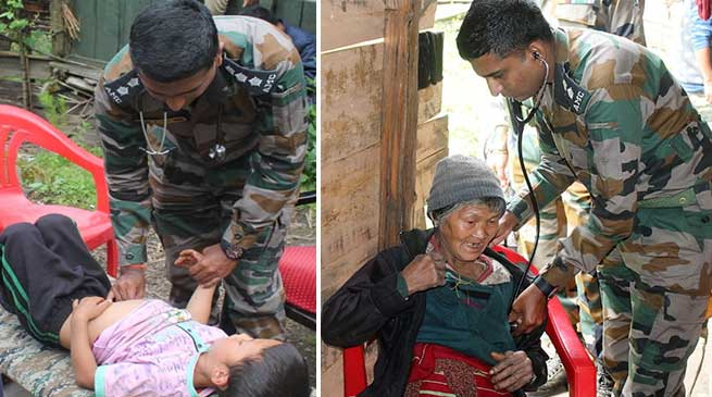 Arunachal: Army conducts medical camp in Taksing