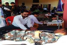Photo of Itanagar: Capital Police personnel's donates 58 unit of blood