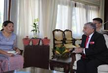 Photo of Arunachal: Chakat Aboh calls on the Governor