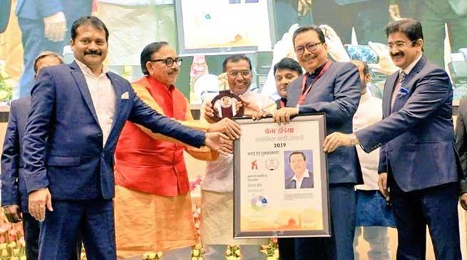 "Arunachal: Chowna Mein awarded the ""Best Minister 2019"""