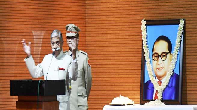 Arunachal: Governor participates in the Constitution Day celebration