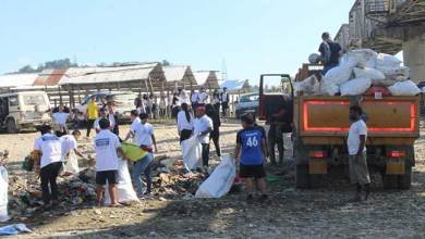 Photo of Arunachal: 500 volunteers takes part in Dikrong River cleaning mission