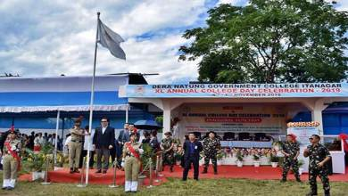 Photo of Itanagar: Chowna Mein inaugurates DNGC's 40th Annual Day Celebration
