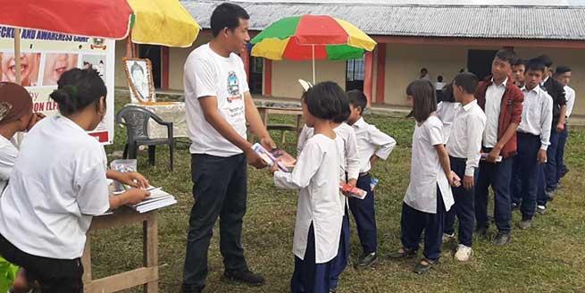 Arunachakl: LPF organised free dental checkup camp at Kugi-Tago Panchayat