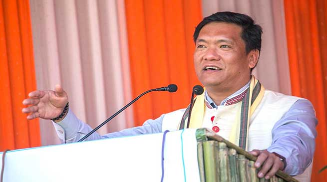 Parents, students and teachers work together for Quality education- Pema Khandu