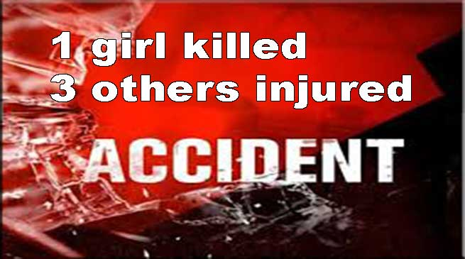 Arunachal: 18-year old girl killed, 3 other injured in a car accident