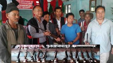 Photo of Arunachal: Villagers submit their Airgun to authorities as initiative for wild life conservation