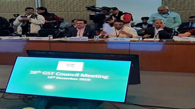 Chowna Mein attended the 38thGST Council Meeting