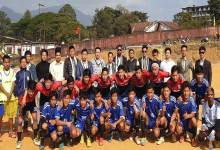 Photo of First ever new year football trophy : Barapani FC and Ward No-12 FC to play in final