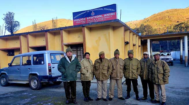 Arunachal: Anini Police Station adjudged 5th best in the Country