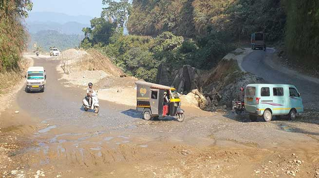 Banderdewa-Nirjuli road to be closed during night from January 3 to 13 -DC Capital