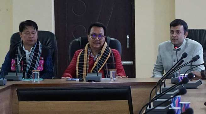 Arunachal: Chowna Mein reviews preparations of Parshuram Kund Mela