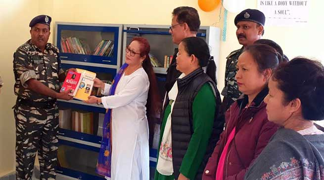CRPF provides 150 books to C Sector, Secondary School