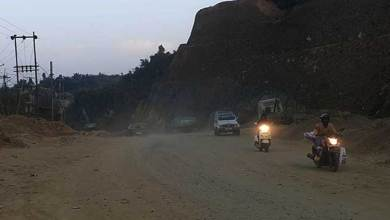 Photo of Dusty NH-415: Residents, commutersapprehensive of air-borne diseases